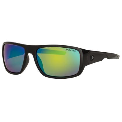 Greys G2 Polarisationsbrille Gloss BLK Fade/Blue Mirror