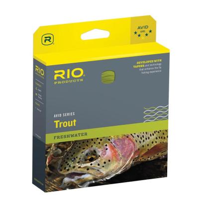 RIO Avid Sinking Tip black/pale yellow 250 grains