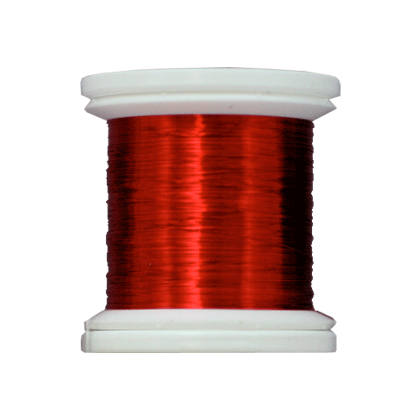 Farbiger Kupferdraht 0,09mm 24Yd. Rotbraun