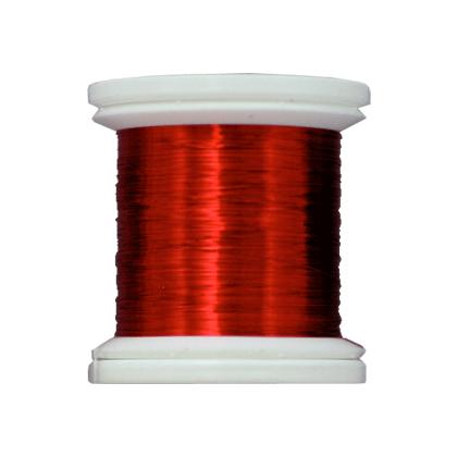 Farbiger Kupferdraht 0,14mm 20Yd. Weinrot
