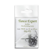 Tunca Expert Barbless Fliegenhaken TE10 Dry Fly
