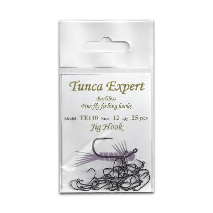Tunca Expert Barbless Fly Hooks TE110 Jig