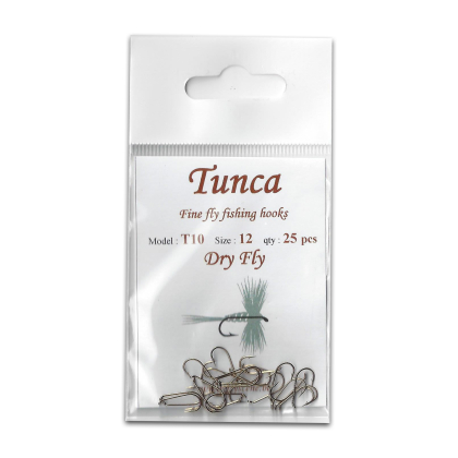 Tunca Fly Hooks T10 Dry fly size 12