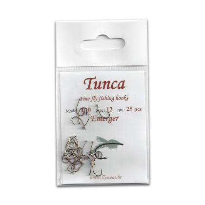 Tunca Fly Hooks T20 Emerger size 18