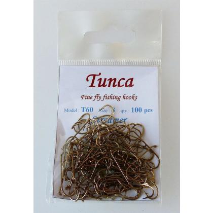 Tunca Fly Hooks T60 Streamer size 8  100 pack