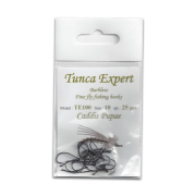 Tunca Expert Barbless Fly Hooks TE100 Caddis Pupa size 14