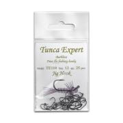 Tunca Expert Barbless Fly Hooks TE110 Jig size 10
