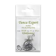 Tunca Expert Barbless Fly Hooks TE120 Klinkhammer size 12