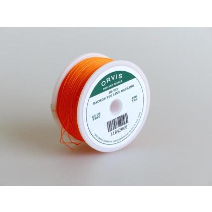 Orvis Backing orange 20lb 100yd