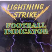 Lightning Strike Football Bissanzeiger Gelb medium