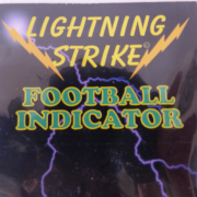 Lightning Strike Football Bissanzeiger Pink small