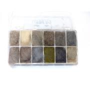 Natural Fur Diverse Felle Dispenser 12 Farben