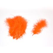Förg Marabou Federn fl Orange