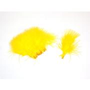 Förg Marabou Federn Chartreuse