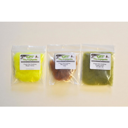 Förg Frogs Hair Caddis Green