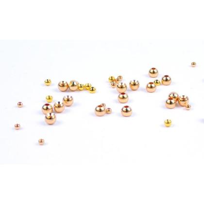 Goldkopfperlen Messing Gold 20 Stück