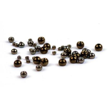 Tungsten Perlen schwarz 20 Stück 3,3 mm