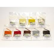 Förg Chenille 2mm verschiedene Farben Fluo Yellow