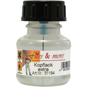 Flies & More Kopflack extra