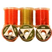 UTC Vinyl D Rib Nymph Orange