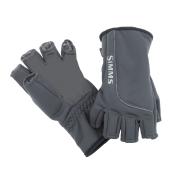 Simms Guide Windbloc Half Finger Handschuh L