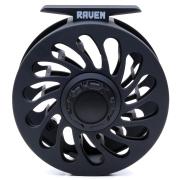 Vision Raven Fliegenrolle Dunkel Grau # 5-6