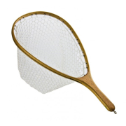 TRAUN RIVER Supreme Wooden Rubber Net Watkescher