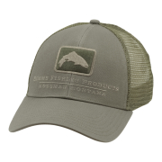 Simms Trout Icon Trucker Cap Tumbleweed