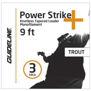 Guideline POWER STRIKE TROUT 9  4X  3St