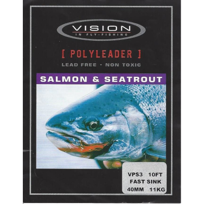 Vision Polyleader Salmon & Seatrout (Hecht) Extra Fast Sink