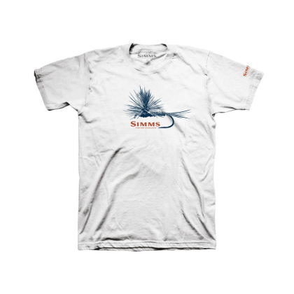 Simms Adams Fly T-Shirt Weiß