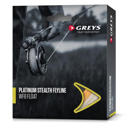 Greys Platinum Stealth Translucent Intermediate WF8 Fliegenschnur