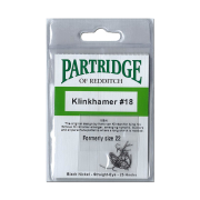 Partridge of Redditch Klinkhammer Haken