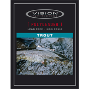 Vision Polyleader Trout 6 feet Slow Sink