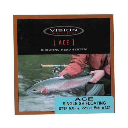 Vision ACE Single Shooting Head Floating ST9F