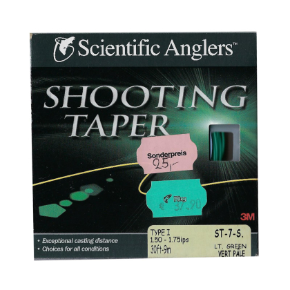 Scientific Anglers Shooting Taper ST-7-S Lt. Green