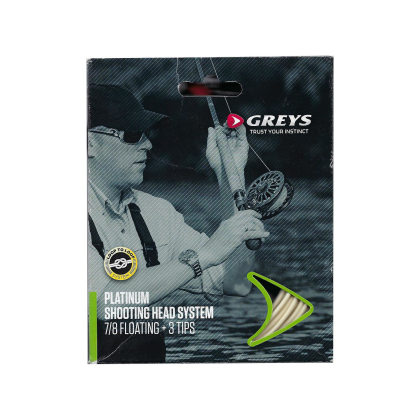 Greys Platinum Shooting Head System 7/8 Floating mit 3 Tips
