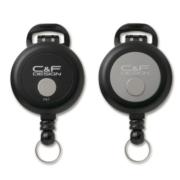 C&F Flex Pin-On Reel (CF-72-) Schwarz