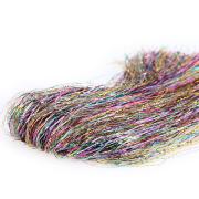 Flies & More New Sparkle Hair Ice Rainbow