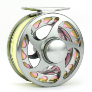 Traun River Drop Fliegenrolle 5/6 gunmetal