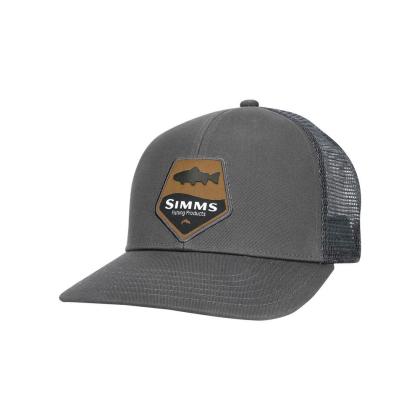 Simms Trout Patch Trucker Cap