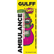 GULFF UV Lack Ambulance Hot Fluoro Yellow 15ml