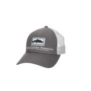 Simms Salmon Icon Trucker Carbon Cap