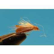 Cinnamon CDC Caddis #12