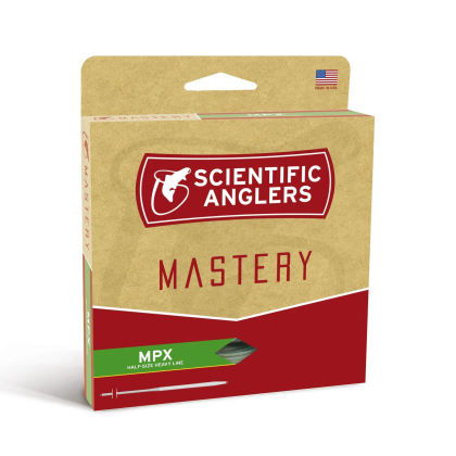 Scientific Anglers Mastery MPX Amber/Willow Fliegenschnur