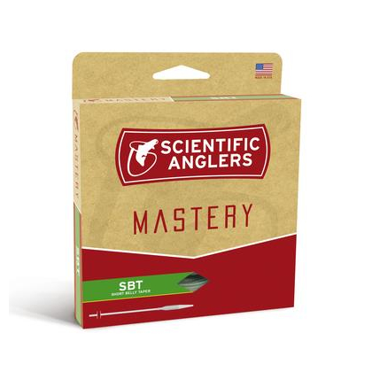 Mastery SBT Dk.Willow/Orange/Dk.Willow tip WF-4-F