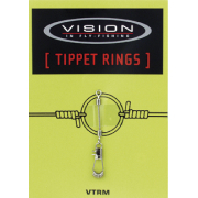 Vision Stealth Tippet Rings Small 12 kg