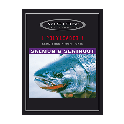 "Vision Polyleader Salmon & Seatrout 100"" Slow sink"